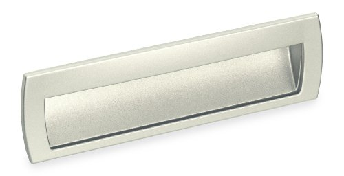 Contemporary Flush Pull - Schwinn 2578 Flush Pull, Satin Nickel