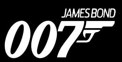 Vinyl Decal Sticker 007 James Bond Car Wall Window Laptop Art