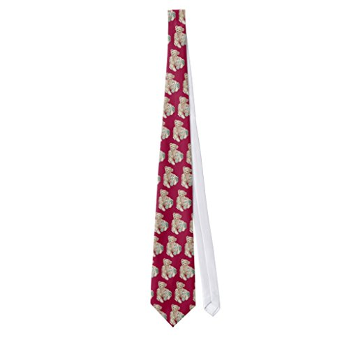 Zazzle Teddy Bear and Gift Box Neck Tie