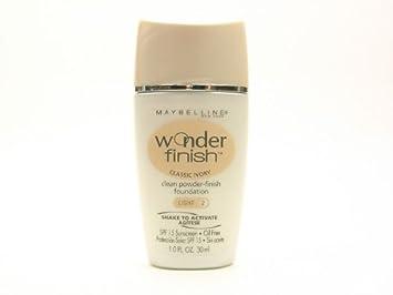 Maybelline Wonder Finish Liquid-to-Powder Foundation, Classic Ivory
