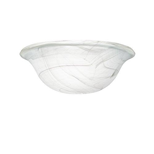 Swirl Ceiling Fan Glass Bowl (Kichler 340015 Fan Glass)