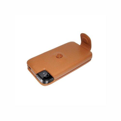 Piel Frama U496C iMagnum Ledertasche mit Magnetverschluss für Apple iPhone 4/4S hellbraun