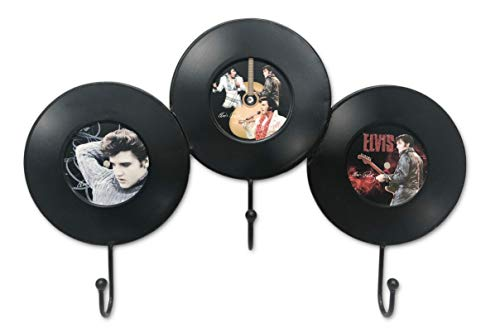 Midsouth Products Elvis Wall Hooks - Records