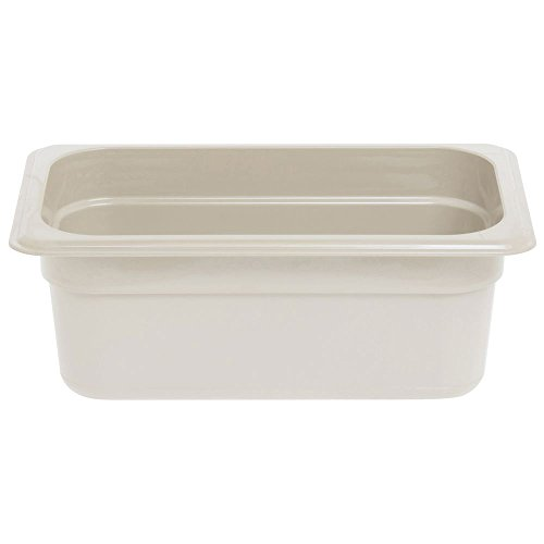 CAMBRO Camwear Hot Food Pan Sandstone Fourth Size 4''D by Cambro Manufacturing (Image #2)