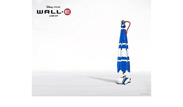 Wall E | 30inch x 24inch | Silk Printing Cartel de Seda ...