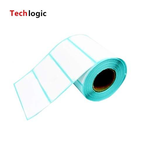 Printer Parts 80mm X 40mm Thermal Label Adhesive Stickers 8040500pcs per roll Thermal Sensitive Adhesive Sticker Barcode Printer Labels