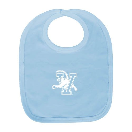 Vermont Light Blue Baby Bib 'Official Logo' by CollegeFanGear