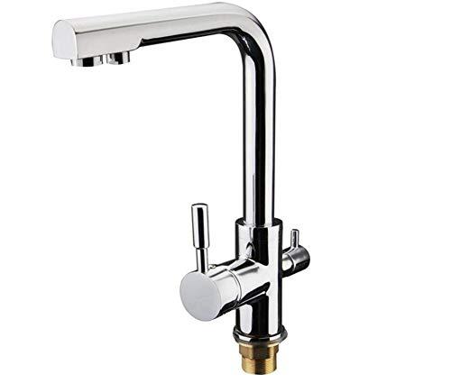 Taps Kitchen Sinktaps Mixer Swivel Faucet Sink Chrome Polished Zinc Alloy Kitchen Sink