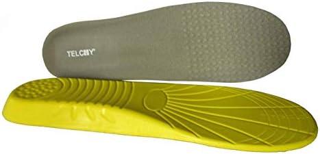 TELCHY® Einlegesohle Schuheinlage Maßeinlage Sport Einlage Fußbett Schaumstoff (L 44-47)
