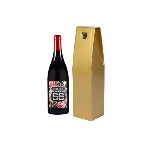 31Q9tatlqsL Route-66-Pinot-Wine-Noir-IGT-Red-Wine-Tony-Moore-Signature-Selection-Organically-Cultivated-Hand-Harvested-Grapes-Award-Winning-Metallic-Gold