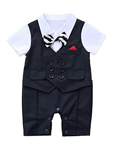 Gentleman Waistcoat Bowtie Jumpsuit Overall product image