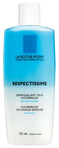 La Roche-Posay Respectissime Unisex Waterproof Eye Make-Up Remover, 4.2 Ounce