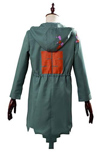 COSTHAT Nagito Komaeda Jacket Outfit Danganronpa 2 Cosplay Halloween Costume for Men Women
