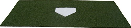 4' x 7.5' Synthetic Turf Baseball/Softball Hitting Mat