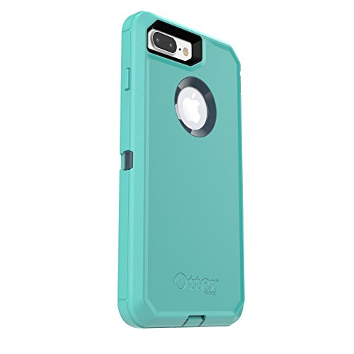 Price comparison product image OtterBox DEFENDER SERIES Case for iPhone 7 Plus (ONLY) - Frustration Free Packaging - BOREALIS (TEMPEST BLUE/AQUA MINT)
