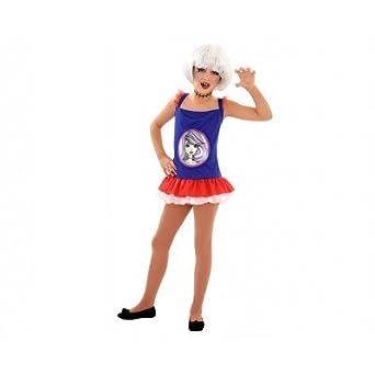 Disfraz Monstruo Gótica niña 10 a 12 años - Frankie Stein Monster High: Amazon.es: Ropa y accesorios
