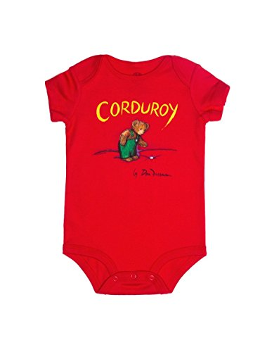 Price comparison product image Out Of Print Infant Corduroy Bodysuit 18 Month Red