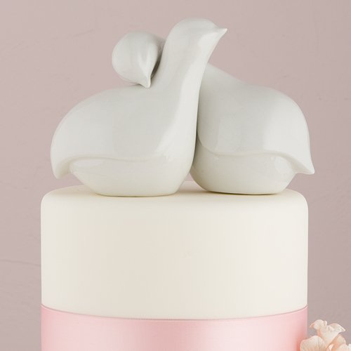 Weddingstar Contemporary Love Birds Cake Topper by Weddingstar Inc. (Image #2)