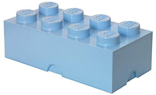 LEGO Storage Brick 8, Light Blue