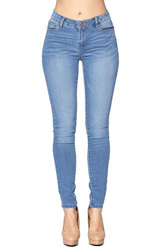 - Blue Age Women's Stretch Denim Skinny Jeans Light Blue (JP1100_LT_7)