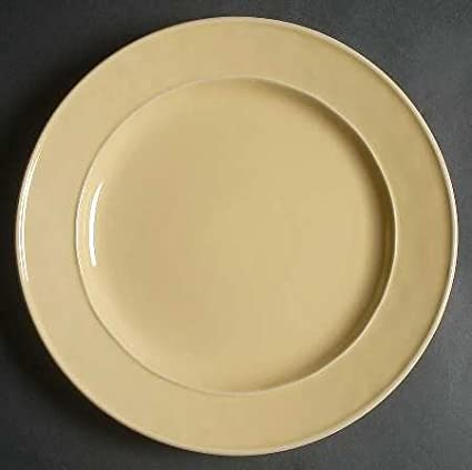 Food Network Fontina-Yellow Dinner Plate Fine China Dinnerware & Amazon.com | Food Network Fontina-Yellow Dinner Plate Fine China ...