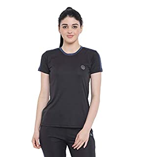 31QA2%2B1UmGL. SS320 CHKOKKO Women's Round Neck Dry Fit Gym Sports T-Shirt