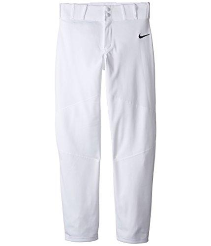 (Nike Boys' Pro Vapor Baseball Pants (M, White))
