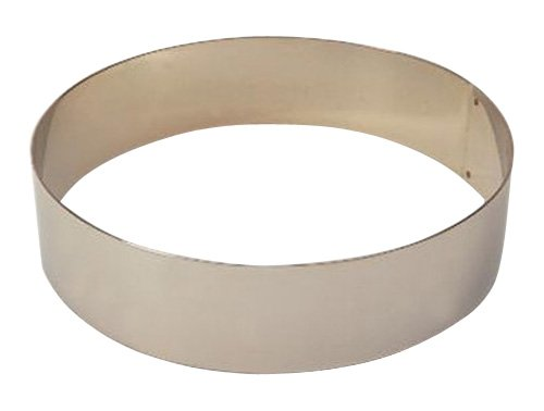 Matfer Bourgeat 371804 Ice Cake Ring, Silver