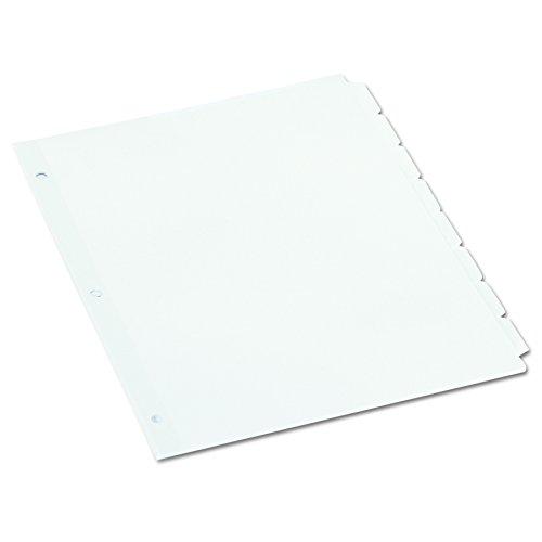 Tab Dividers, Letter, White, 24 Sets/Box (20845) (Box White Tab)