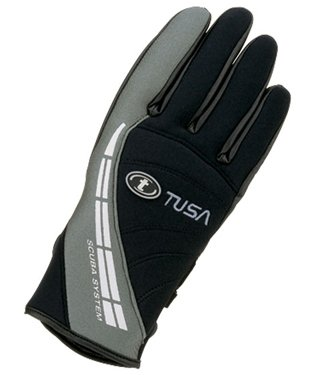 Tusa DG-5100 2mm Warm Water Glove with Suede Palm for Scuba Diving (LG)