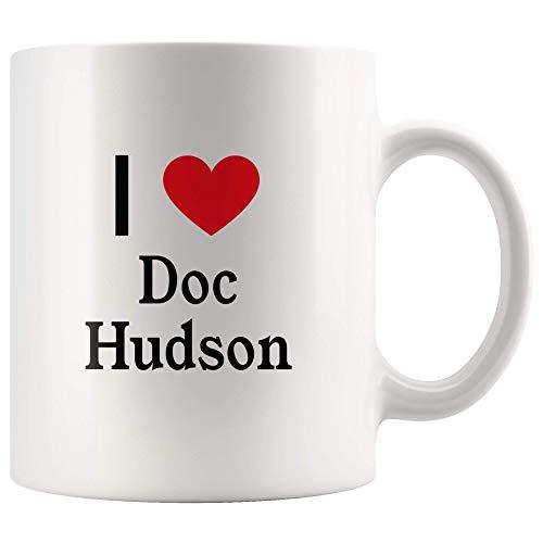 - I Love Doc Hudson Tea and Coffee Mug: 11oz Tea and Coffee Mug Merchandise For Fans Of Cars!