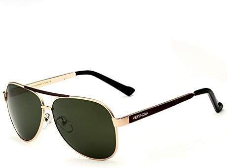 Giow Gafas de Sol Gafas de Sol polarizadas Hombres Espejo de ...