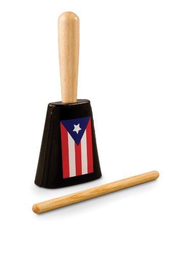 Latin Percussion LPA900-PR Aspire EZ-Grip Cowbell - Heritage Series, Puerto Rico