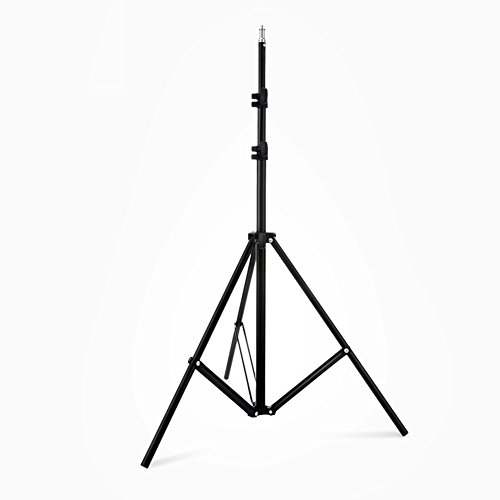 Lightdow 2-Pack of 6.5ft / 2m Adjustable Light Stand Tripod with 1/4 Screw (Model Number: LD-DP001)
