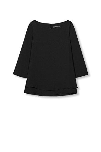 Noir Blouse ESPRIT Black Femme Collection S1qwx4B
