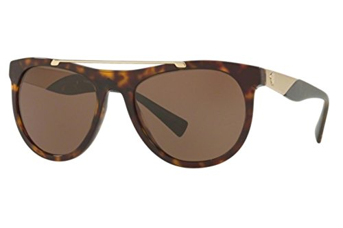 VERSACE Sunglasses VE 4347 108/73 Havana Gold - Versace Wayfarer Sunglasses