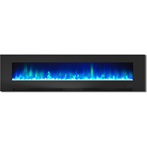 Cheap Hanover Wall-Mount Electric Fireplace 78