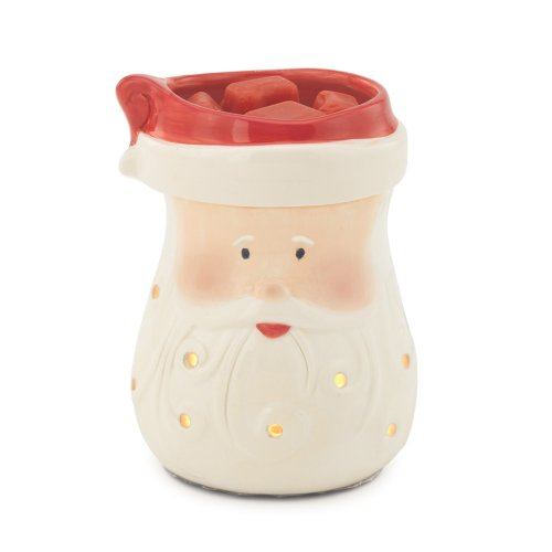 Candle Warmers Etc. Illumination Fragrance Warmer, Santa