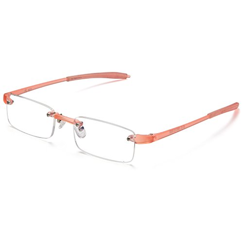 ALTEC VISION Rimless Readers Lightweight Reading Glasses - 2.00x