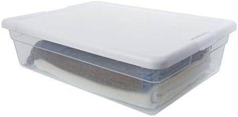 Sterilite 16558010 28qt Storage Box Home Improvement Amazon Com