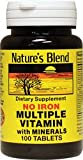 Multiple Vitamin with Minerals No Iron 100 Tabs For Sale