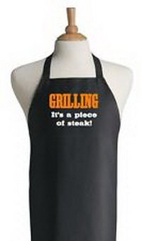 Blazers Proforms Costumes - Funny BBQ Apron Gift Idea Grilling It's A Piece Of Steak Black Cooking