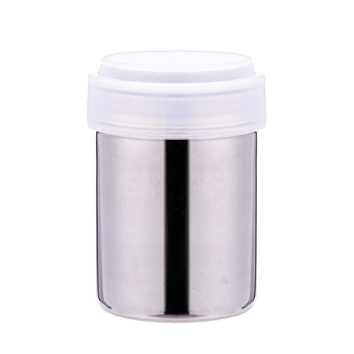 Stainless Steel Powder Shakers Mesh Shaker Powder Cans for Coffee Cocoa Cinnamon Powder 1 Pcs - Indispensable Coffee Dispenser