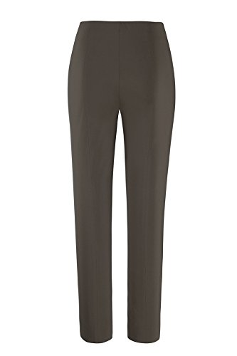 Stehmann Ina 740–Pants Super elástico corte alto. Recto Fit- la más cómodo señoras pantalones. Comprar este pantalones un tamaño más pequeños. Lorbeer