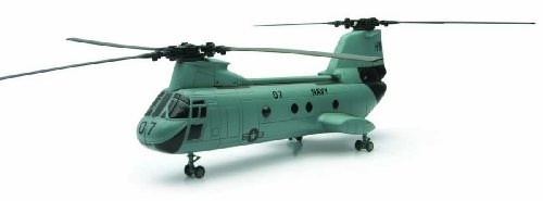 Boeing Ch-46 Sea Knight Navy Skypilot Diecast Helicopter 1/55 New Ray