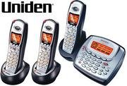 Uniden TRU8885-3HS 5.8GHz Digital Expandable System with Digital Answering System and Caller ID -