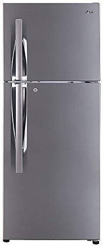 LG 260 L 3 Star Frost Free Double Door Refrigerator (GL-I292RPZL, Shiny Steel, Smart Inverter Compressor)