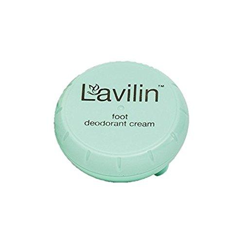 Lavilin Foot Care Award Winning Foot Deodorant Cream, 12.5 Grams