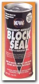 K & W Permanent Metallic Block Seal 16 oz. Case of 6