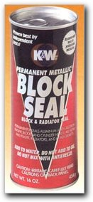 K & W Permanent Metallic Block Seal 16 oz. Case of 6 K and W Products